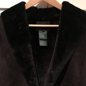 Ralph Lauren faux shearling vest